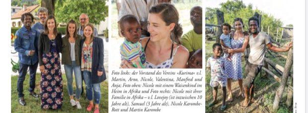 """Bericht in """"Mein Monat"""""""